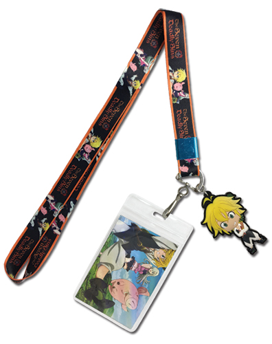 The Seven Deadly Sins - Meliodas, Elizabeth & Hawk Lanyard officially licensed The Seven Deadly Sins Lanyard product at B.A. Toys.