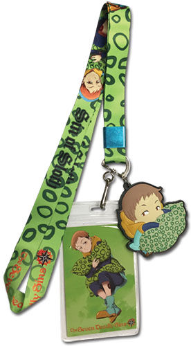 The Seven Deadly Sins - King Lanyard officially licensed The Seven Deadly Sins Lanyard product at B.A. Toys.