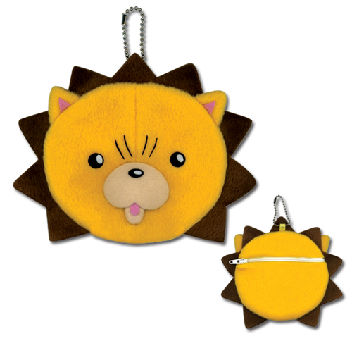 Bleach Kon Head Coin Purse Keychain, an officially licensed product in our Bleach Wallet & Coin Purse department.