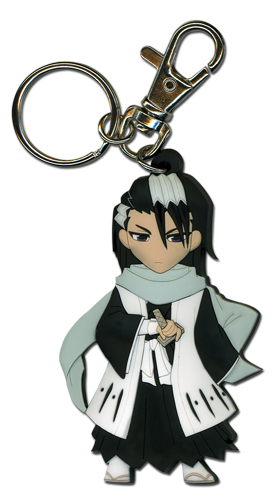 Bleach Byakuya Pvc Sd Keychain, an officially licensed product in our Bleach Key Chains department.