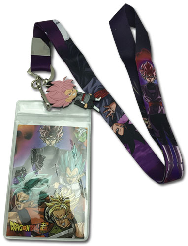 Dragon Ball Super - Black & Rose Goku Lanyard, an officially licensed product in our Dragon Ball Super Lanyard department.