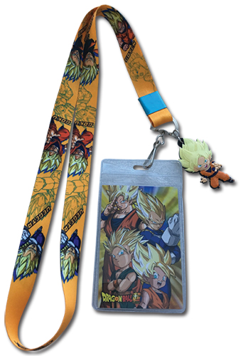 Dragon Ball Super - Goten, Trunks, Goku And Vegeta Lanyard, an officially licensed product in our Dragon Ball Super Lanyard department.