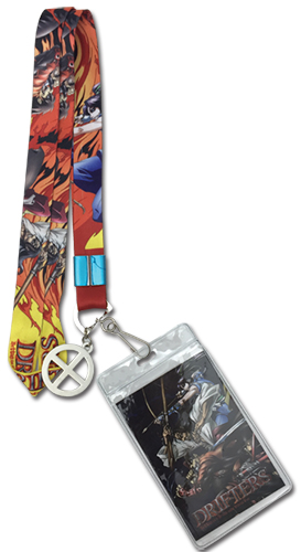 Drifters - Shimazu, Nasu & Oda Lanyard, an officially licensed product in our Drifters Lanyard department.