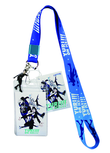 Yuri On Ice!!! - Key Art Lanyard, an officially licensed product in our Yuri!!! On Ice Lanyard department.