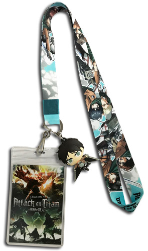 Attack On Titan S2 - Group Lanyard, an officially licensed product in our Attack On Titan Lanyard department.
