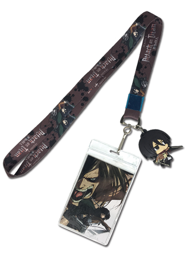 Attack On Titan 2 - Mikasa Lanyard, an officially licensed product in our Attack On Titan Lanyard department.