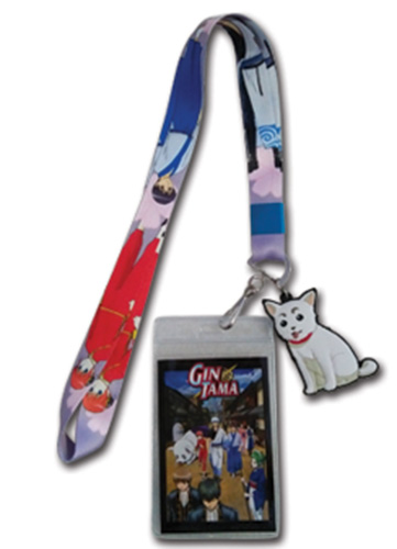 Gintama S3 - Gintoki Kagura Shinpachi Lanyard, an officially licensed product in our Gintama Lanyard department.