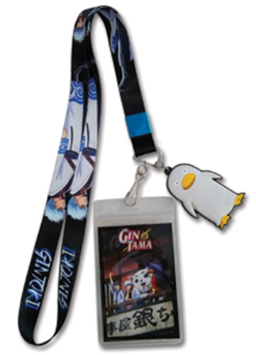 Gintama S3 - Gintoki Lanyard, an officially licensed product in our Gintama Lanyard department.