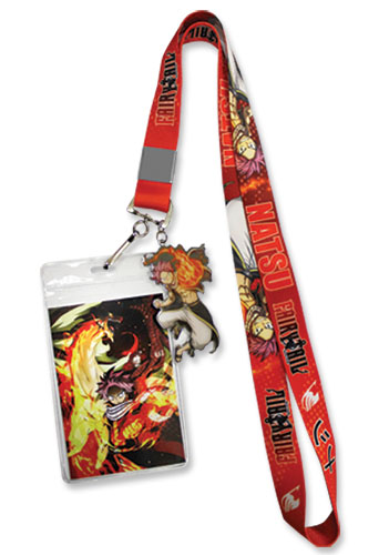 Fairy Tail S7 - Natsu Lanyard, an officially licensed product in our Fairy Tail Lanyard department.