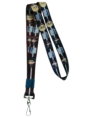Attack On Titan - Group Lanyard, an officially licensed Attack On Titan product at B.A. Toys.