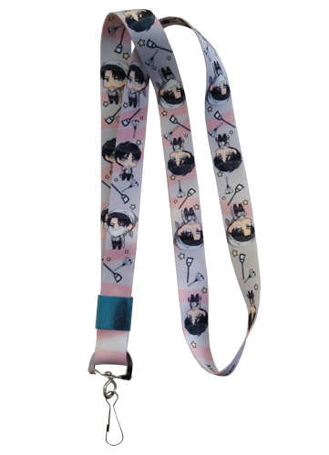 Attack On Titan - Levi & Eren Lanyard officially licensed Attack On Titan Lanyard product at B.A. Toys.