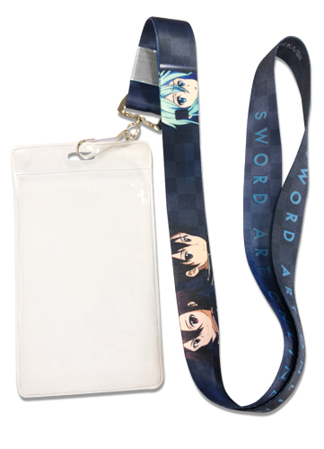 Sword Art Online 2 - Group Lanyard, an officially licensed product in our Sword Art Online Lanyard department.