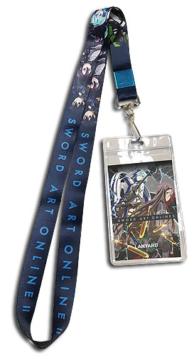 Sword Art Online - Group Lanyard, an officially licensed product in our Sword Art Online Lanyard department.