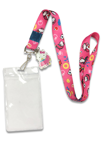 Hello Kitty - Hello Kitty In The Car Lanyard With Charm, an officially licensed product in our Hello Kitty Lanyard department.