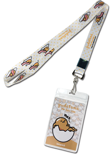 Gudetama - Gudetama Lanyard 6, an officially licensed product in our Gudetama Lanyard department.
