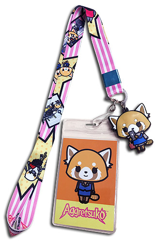 Aggrestuko - Aggrestuko And Friends Lanyard, an officially licensed Everything Else product at B.A. Toys.