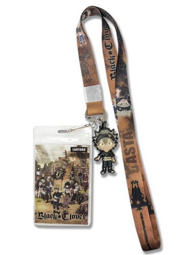 Black Clover - Sd Asta Lanyard, an officially licensed product in our Black Clover Lanyard department.