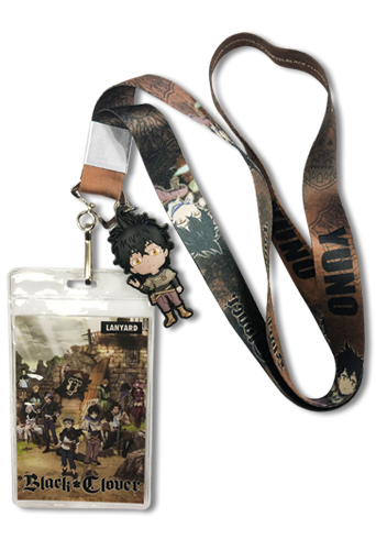 Black Clover - Sd Yuno Lanyard, an officially licensed Black Clover product at B.A. Toys.
