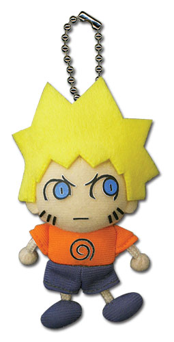 Naruto Shippuden Naruto Plush Keychain, an officially licensed product in our Naruto Shippuden Key Chains department.