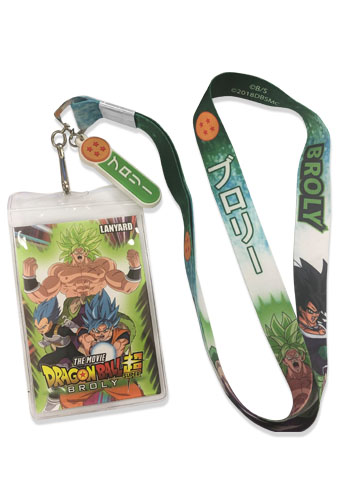 Dragon Ball Super Broly - Broly Lanyard, an officially licensed product in our Dragon Ball Super Broly Lanyard department.