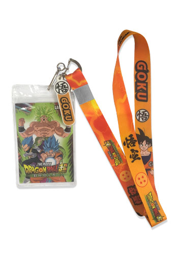 Dragon Ball Super Broly - Goku Lanyard, an officially licensed product in our Dragon Ball Super Broly Lanyard department.