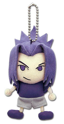 Naruto Shippuden Sasuke Plush Keychain, an officially licensed product in our Naruto Shippuden Key Chains department.