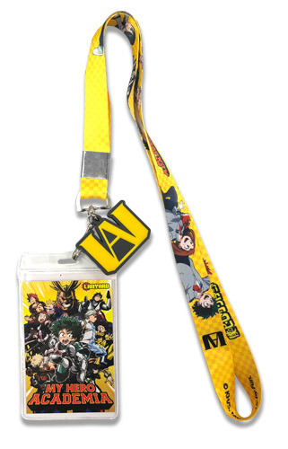 My Hero Academia - Group Lanyard, an officially licensed product in our My Hero Academia Lanyard department.