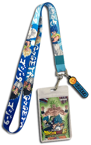 Dragon Ball Super Broly - Gogeta Lanyard 18'', an officially licensed product in our Dragon Ball Super Broly Lanyard department.