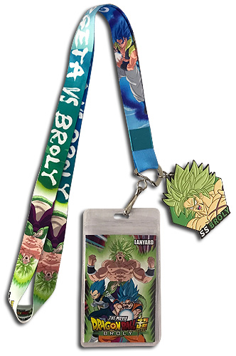 Dragon Ball Super Broly - Broly & Gogeta Lanyard 18'', an officially licensed product in our Dragon Ball Super Broly Lanyard department.