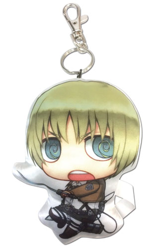 Attack On Titan - Armin Sd Plush Keychain, an officially licensed product in our Attack On Titan Key Chains department.