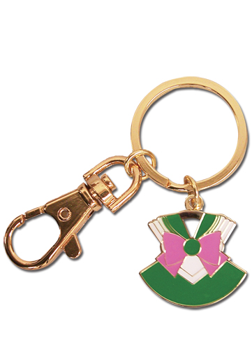 Sailor Moon - Sailor Jupiter Costume Metal Keychain, an officially licensed product in our Sailor Moon Key Chains department.
