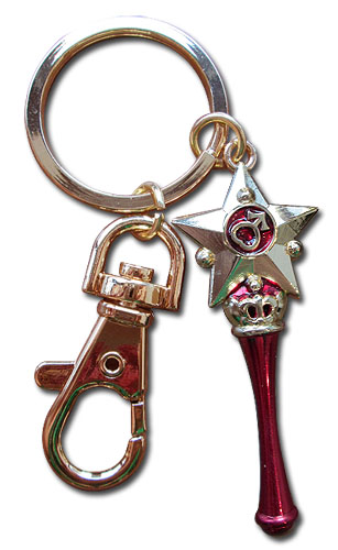 Sailor Moon - Mars Moon Pen Keychain, an officially licensed product in our Sailor Moon Key Chains department.