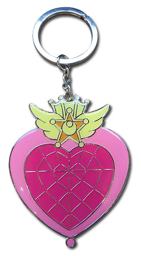 Sailor Moon Supers - Sailor Chibimoon Compact Keychain, an officially licensed product in our Sailor Moon Key Chains department.