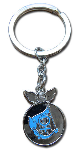 Sailor Moon Supers - Mercury Change Rod Keychain, an officially licensed product in our Sailor Moon Key Chains department.
