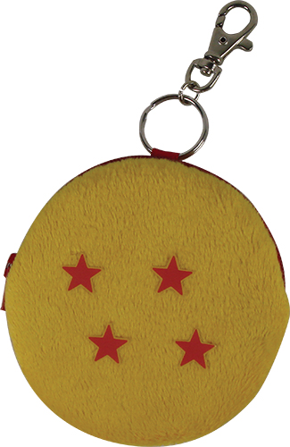 Dragon Ball Z - Dragonball #4 Plush Keychain, an officially licensed product in our Dragon Ball Z Key Chains department.