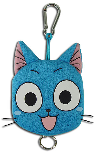 Fairy Tail - Happy Keychain, an officially licensed product in our Fairy Tail Key Chains department.