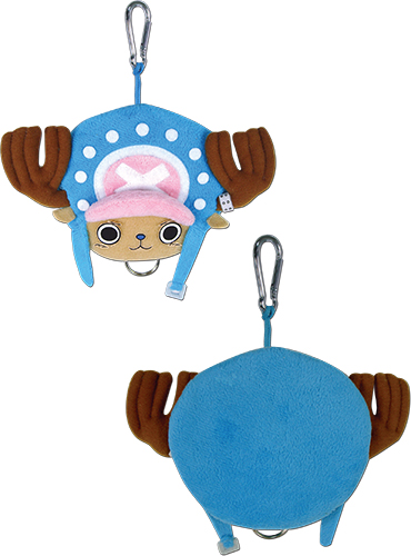 One Piece - Chopper Plush Keyholder officially licensed One Piece Key Chains product at B.A. Toys.