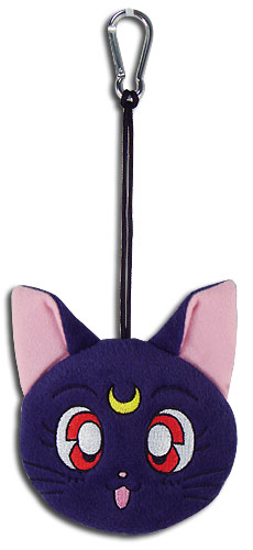 Sailor Moon - Luna Plush Keyholder, an officially licensed product in our Sailor Moon Key Chains department.