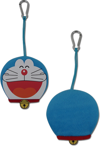 Doraemon - Doraemon Plush Keyholder 3.8''H, an officially licensed product in our Doraemon Key Chains department.