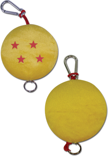 Dragon Ball Z - Dragonball Plush Keychain, an officially licensed product in our Dragon Ball Z Key Chains department.