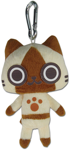 Monster Hunter - Airou Plush Keychain, an officially licensed product in our Monster Hunter Key Chains department.