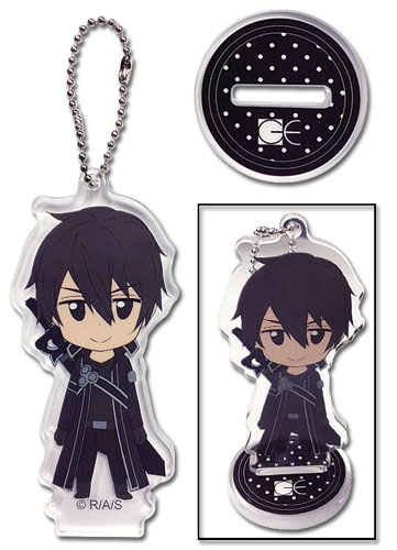 Sword Art Online - Kirito Acrylic Keychain, an officially licensed product in our Sword Art Online Key Chains department.