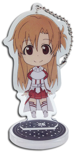Sword Art Online - Asuna Acrylic Keychain officially licensed Sword Art Online Key Chains product at B.A. Toys.
