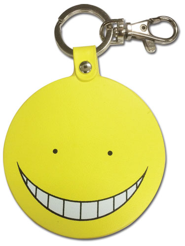 Assassination Classroom - Koro Sensei Pu Keychain, an officially licensed product in our Assassination Classroom Key Chains department.