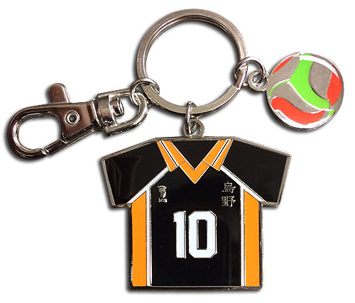 Haikyu!! - Number 10 Team Uniform Keychain, an officially licensed product in our Haikyu!! Key Chains department.