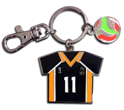Haikyu!! - Number 11 Team Uniform Keychain, an officially licensed product in our Haikyu!! Key Chains department.