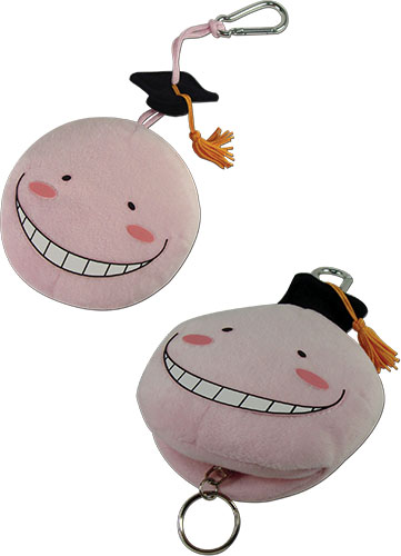 Assassination Classroom - Relax Koro Sensei Plush Keychain, an officially licensed product in our Assassination Classroom Key Chains department.
