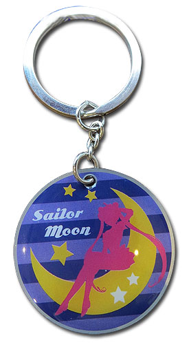 Sailor Moon S - Sailor Moon Silhouette Keychain, an officially licensed product in our Sailor Moon Key Chains department.