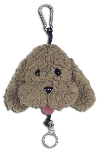 Yuri On Ice!!! - Makkachin Plush Keychain, an officially licensed product in our Yuri!!! On Ice Key Chains department.
