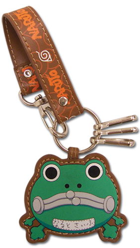 Naruto Frog Purse Leather Keychain, an officially licensed product in our Naruto Wallet & Coin Purse department.